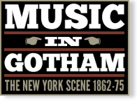 Music in Gotham logo